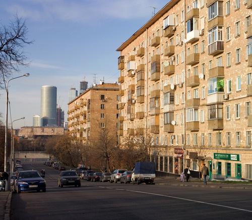 Москва, ЦАО Новодевичий проезд